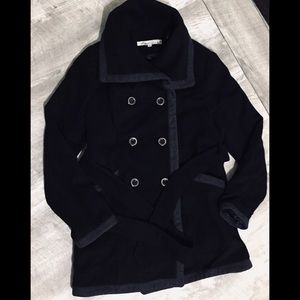 Kenneth Cole New York Wool Blend Peacoat G-III